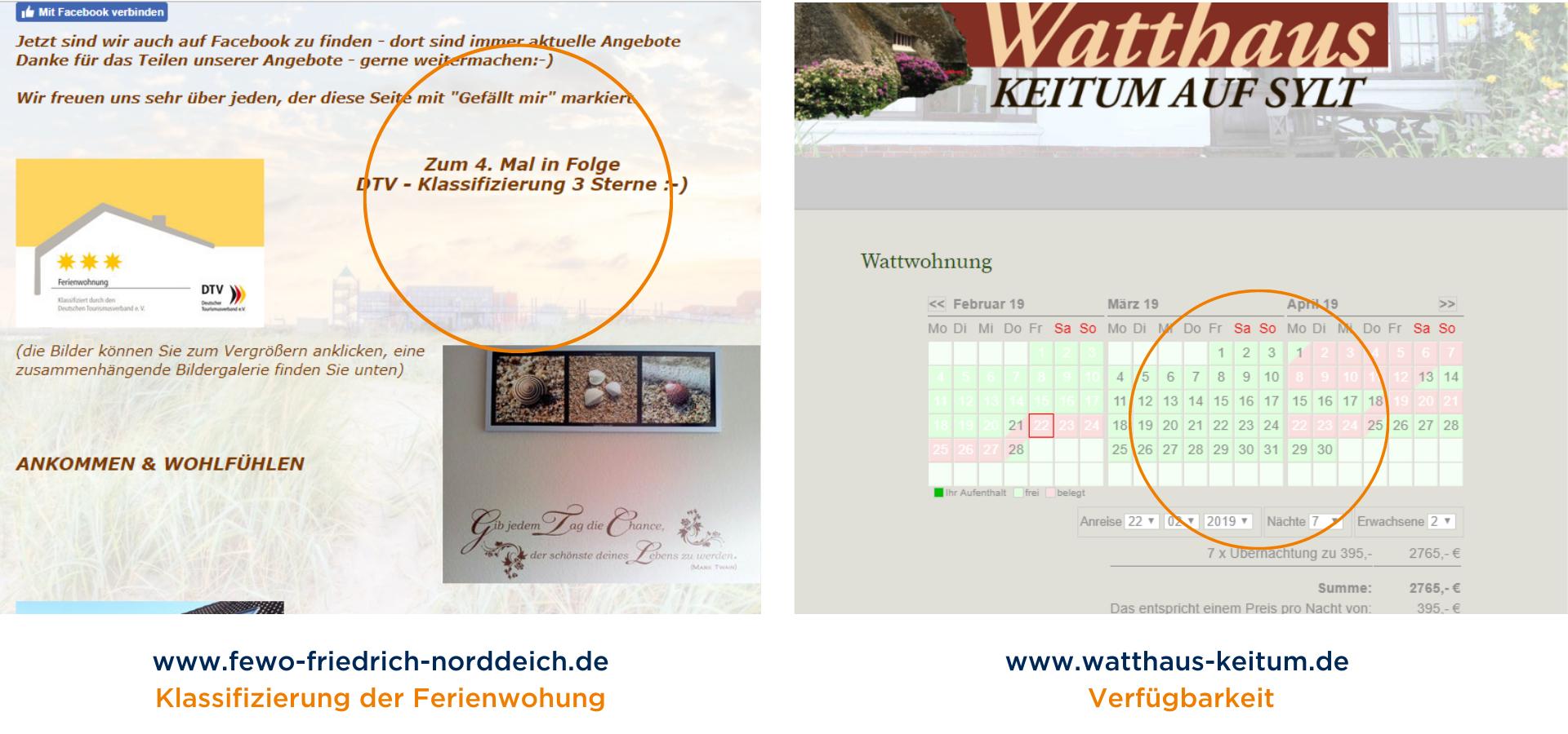 www.fewo-friedrich-norddeich.de Klassifizierung der Ferienwohung